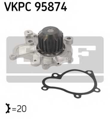 Водяной насос SKF VKPC 95874 - изображение