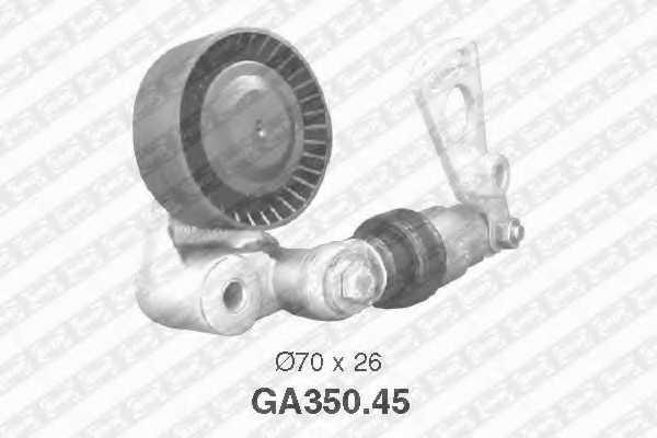 Натяжной ролик поликлиновогоременя SNR GA350.45 - изображение