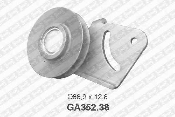 Натяжной ролик поликлиновогоременя SNR GA352.38 - изображение