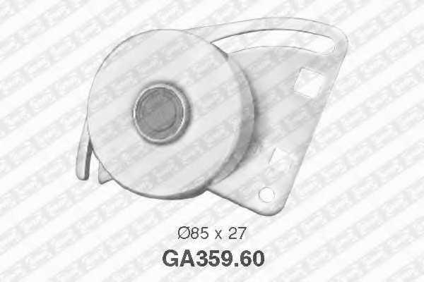 Натяжной ролик поликлиновогоременя SNR GA359.60 - изображение