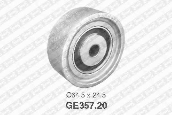 Паразитный / ведущий ролик зубчатого ремня SNR GE357.20 - изображение