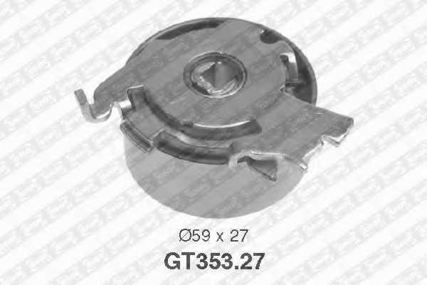 Натяжной ролик ременя ГРМ SNR GT353.27 - изображение