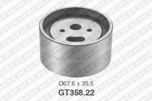 Натяжной ролик ременя ГРМ SNR GT358.22 - изображение