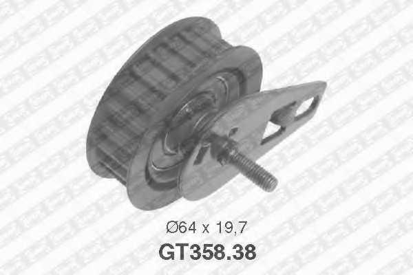 Натяжной ролик ременя ГРМ SNR GT358.38 - изображение