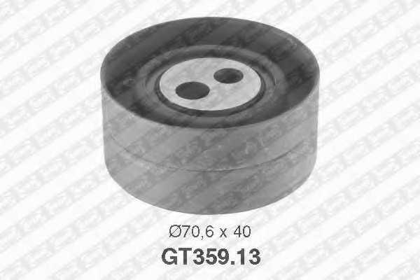 Натяжной ролик ременя ГРМ SNR GT359.13 - изображение