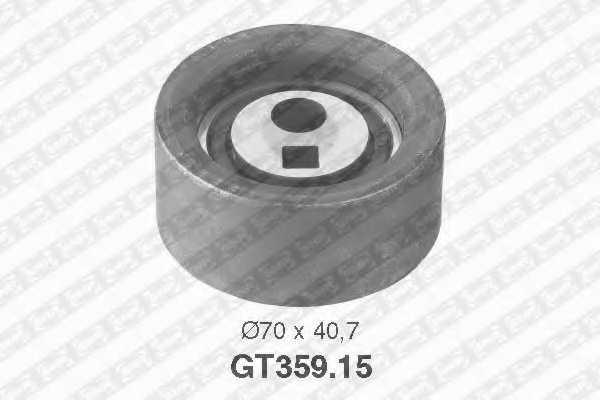 Натяжной ролик ременя ГРМ SNR GT359.15 - изображение