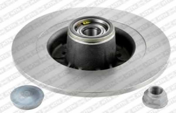 Тормозной диск SNR KF155.100U - изображение