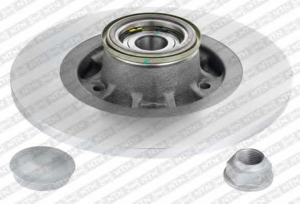 Тормозной диск SNR KF155.121U - изображение