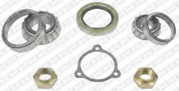 Комплект подшипника ступицы колеса SNR R140.58 - изображение