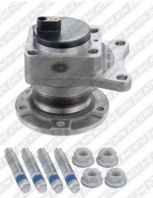 Комплект подшипника ступицы колеса SNR R141.02 - изображение