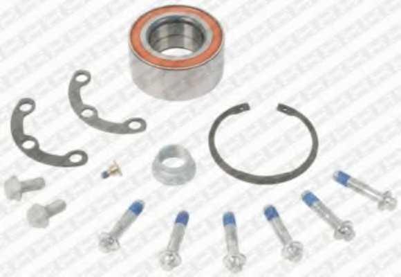 Комплект подшипника ступицы колеса SNR R151.07S - изображение