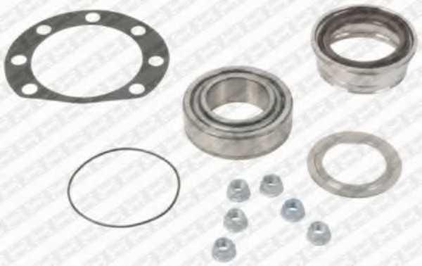 Комплект подшипника ступицы колеса SNR R151.10S - изображение