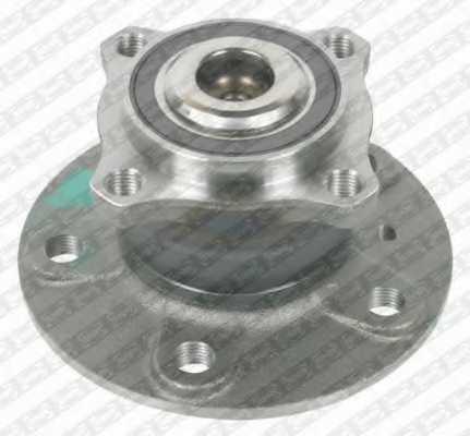 Комплект подшипника ступицы колеса SNR R151.45 - изображение