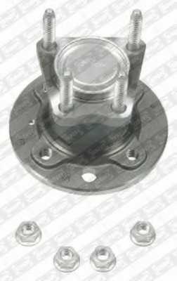 Комплект подшипника ступицы колеса SNR R153.22 - изображение