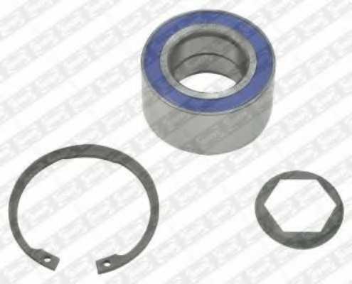 Комплект подшипника ступицы колеса SNR R153.24 - изображение