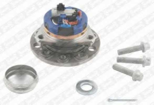Комплект подшипника ступицы колеса SNR R153.33 - изображение