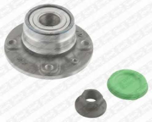 Комплект подшипника ступицы колеса SNR R153.38 - изображение