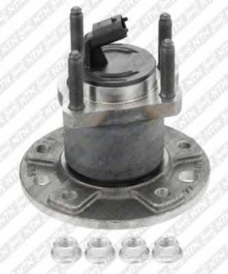 Комплект подшипника ступицы колеса SNR R153.49 - изображение