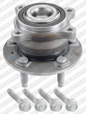 Комплект подшипника ступицы колеса SNR R153.68 - изображение