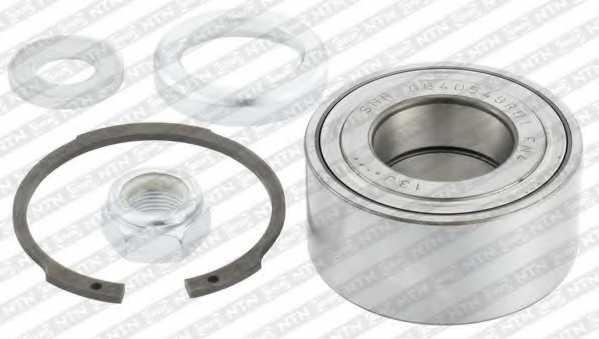 Комплект подшипника ступицы колеса SNR R155.09 - изображение