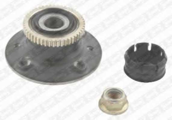 Комплект подшипника ступицы колеса SNR R155.24 - изображение