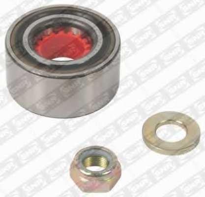 Комплект подшипника ступицы колеса SNR R155.45 - изображение