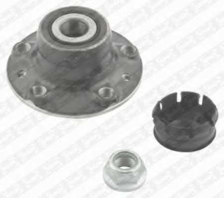 Комплект подшипника ступицы колеса SNR R155.66 - изображение