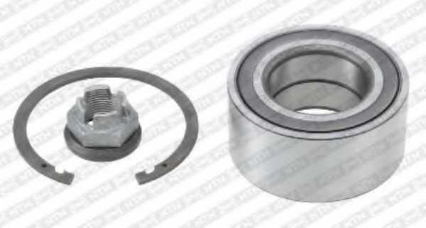 Комплект подшипника ступицы колеса SNR R155.92 - изображение