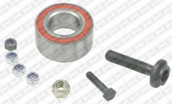 Комплект подшипника ступицы колеса SNR R157.11 - изображение