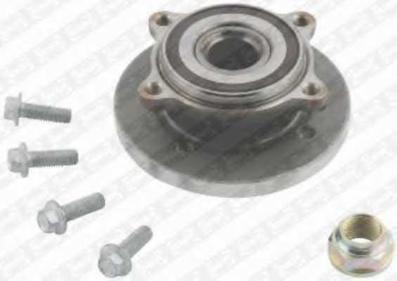 Комплект подшипника ступицы колеса SNR R162.50 - изображение