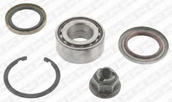 Комплект подшипника ступицы колеса SNR R165.25 - изображение