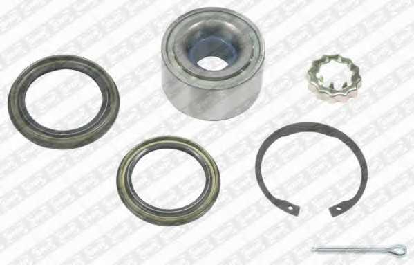 Комплект подшипника ступицы колеса SNR R168.40 - изображение