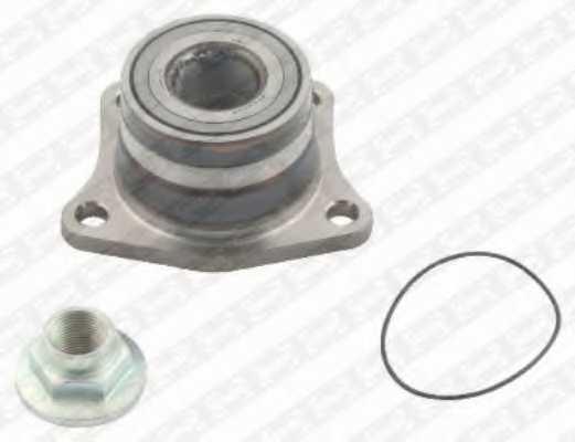 Комплект подшипника ступицы колеса SNR R169.39 - изображение