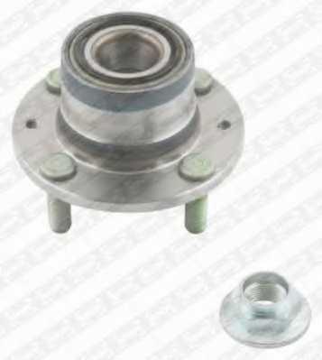 Комплект подшипника ступицы колеса SNR R170.23 - изображение