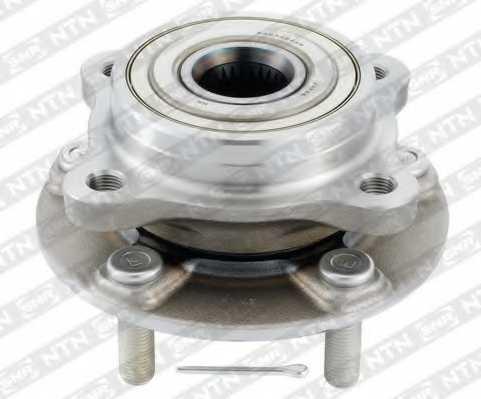 Комплект подшипника ступицы колеса SNR R173.53 - изображение