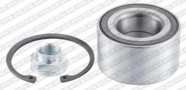 Комплект подшипника ступицы колеса SNR R174.90 - изображение