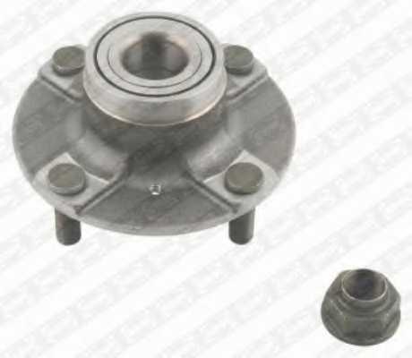 Комплект подшипника ступицы колеса SNR R177.03 - изображение