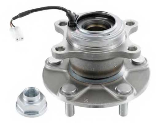 Комплект подшипника ступицы колеса SNR R177.47 - изображение