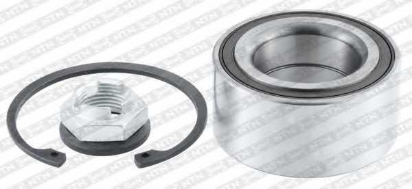 Комплект подшипника ступицы колеса SNR R180.12 - изображение