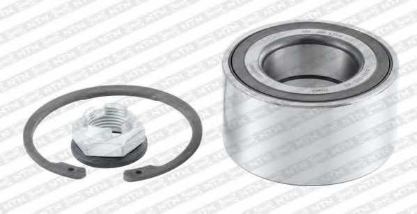 Комплект подшипника ступицы колеса SNR R180.13 - изображение