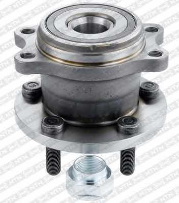 Комплект подшипника ступицы колеса SNR R181.24 - изображение