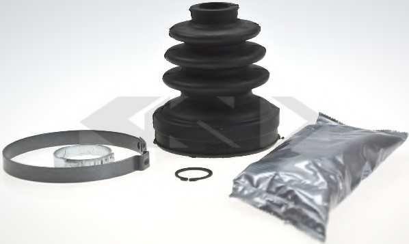 Комплект пылника приводного вала SPIDAN 22282 - изображение