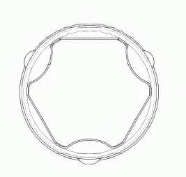 Комплект пылника приводного вала SPIDAN 22295 - изображение 1