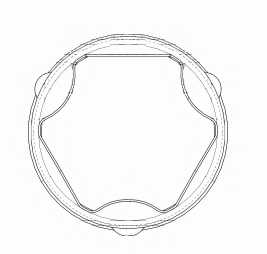 Комплект пылника приводного вала SPIDAN 24466 - изображение 1