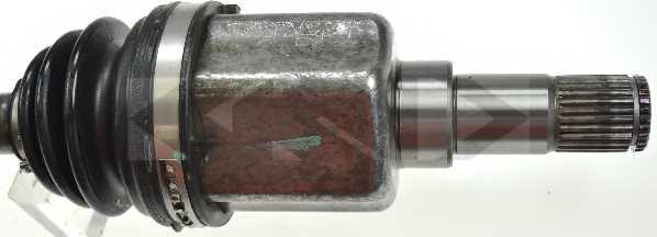 Приводной вал SPIDAN 24857 - изображение 2