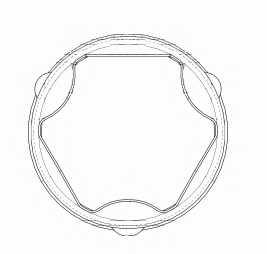 Комплект пылника приводного вала SPIDAN 25550 - изображение 1