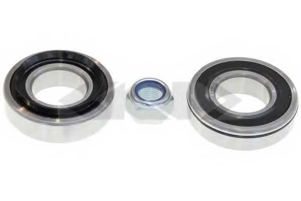 Комплект подшипника ступицы колеса SPIDAN 26481 - изображение