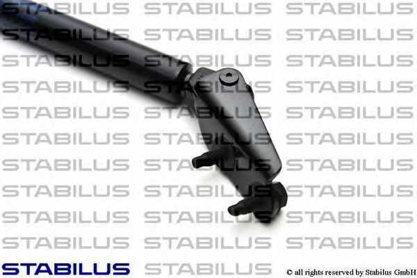 Газовая пружина (амортизатор) крышки багажника STABILUS 3391XU - изображение 2