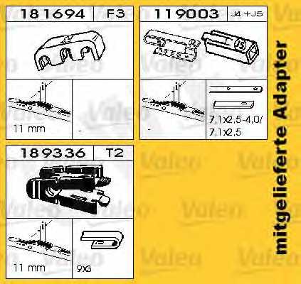 Щетка стеклоочистителя SWF SWF 128 / 116128 - изображение 1