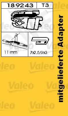 Щетка стеклоочистителя SWF SWF 146 / 116146 - изображение 1